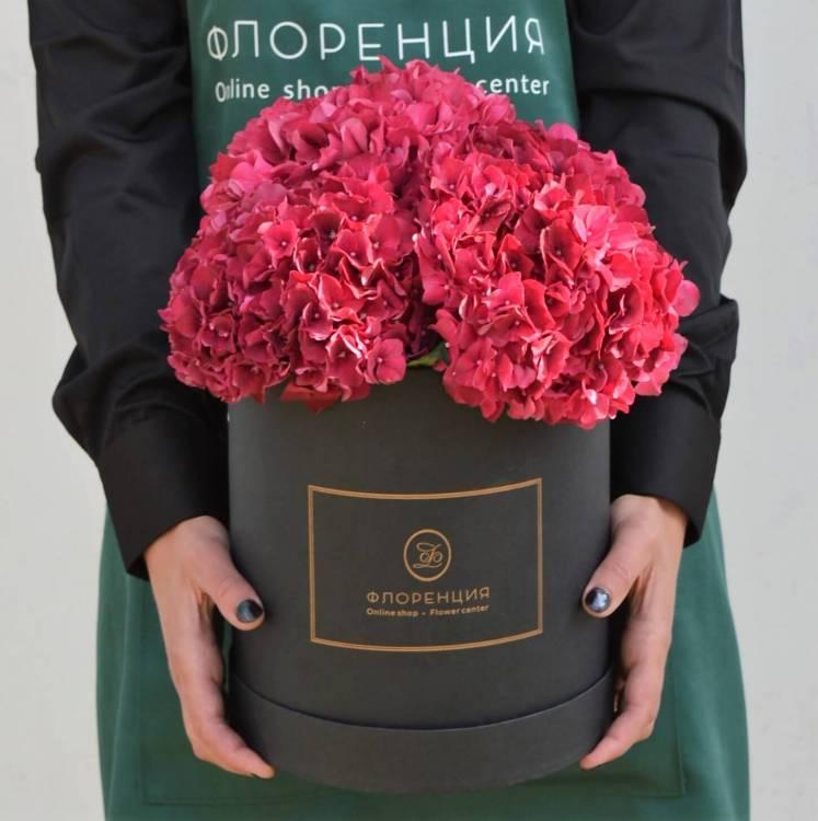 Цветы в коробке R15