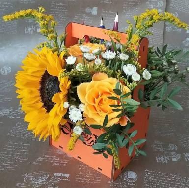 Композиция из цветов Ф215